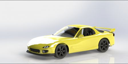 RX-7 FD3S CAO Chassis 004