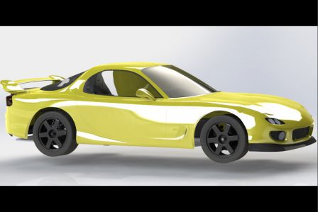 RX-7 FD3S CAO Chassis 005