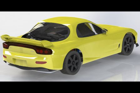 RX-7 FD3S CAO Chassis 006