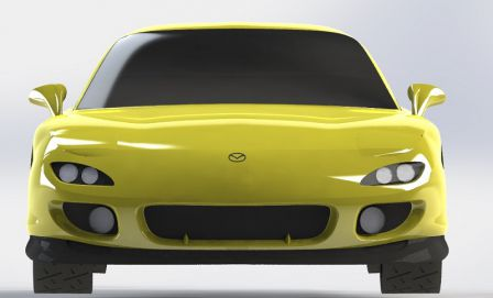 RX-7 FD3S CAO Chassis 008