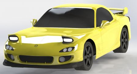 RX-7 FD3S CAO Chassis 009