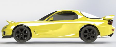 RX-7 FD3S CAO Chassis 011