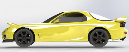 RX-7 FD3S CAO Chassis 012
