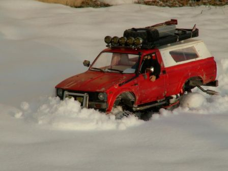 Sortie 01-10-2010 Hilux in Snow 4